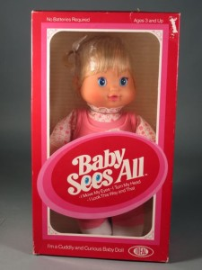 baby sees all