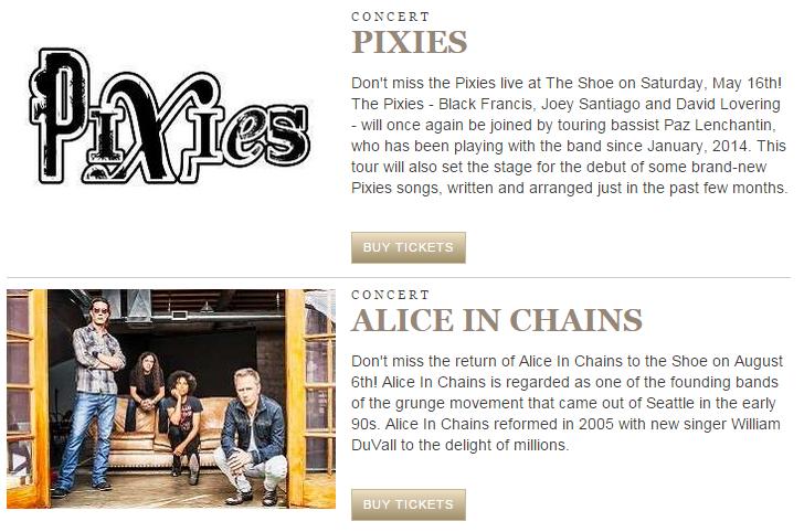 pixies aic concert