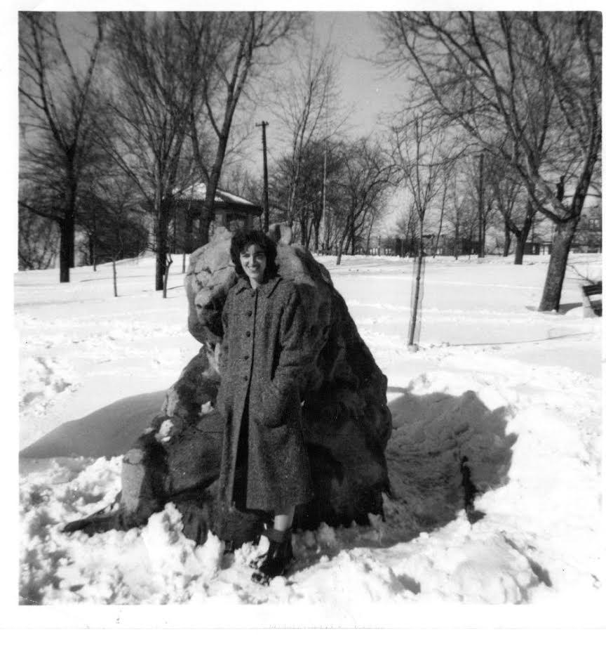 Olga in winter