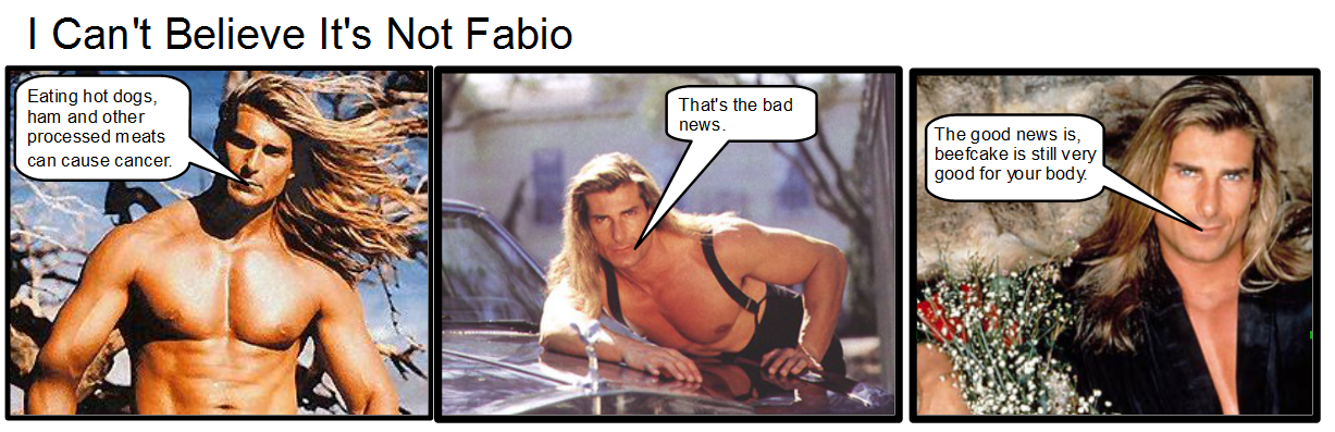 fabio hot dog comic