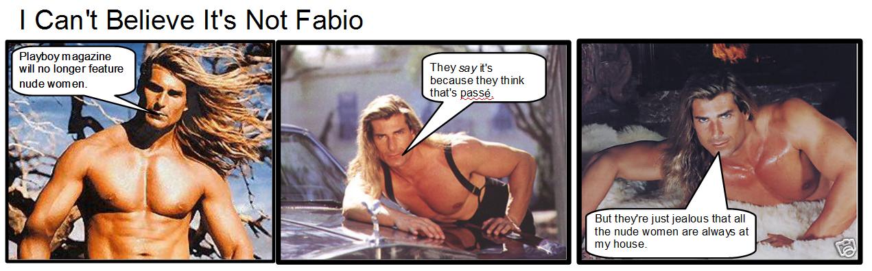 fabio playboy comic