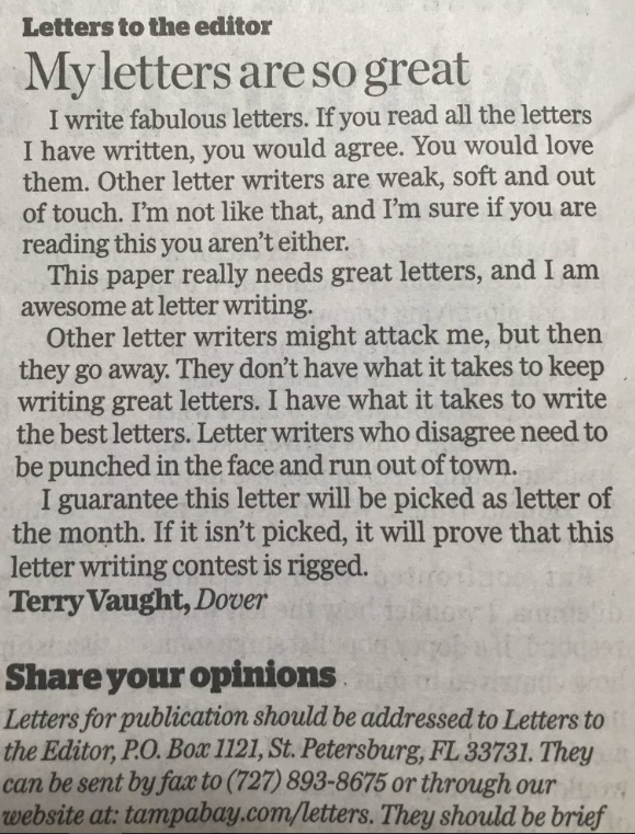 letters are so great